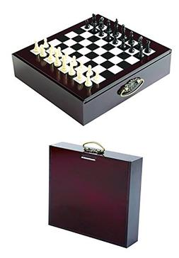 10 in 1 Carry Along Wood Game Set