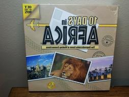 10 Days In Africa Board Game by Out Of The Box NEW Factory S