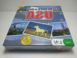"10 DAYS in the USA Board Game NEW SEALED. Made by ""Out of th"