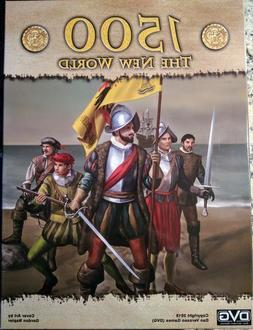 1500, The New World, Boardgame, New by DVG, English Edition