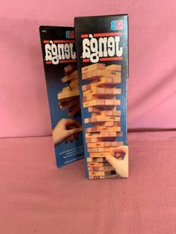 NEW Original 1986 Milton Bradley JENGA Classic Stacking 54 W