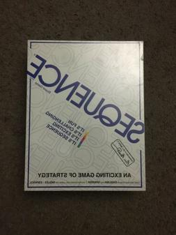 1995 Sequence Board Game Jax LTD Factory Sealed Item No. 800