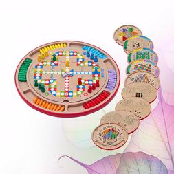 1Pc Board Game Toy Creative Wooden Interesting Educational T