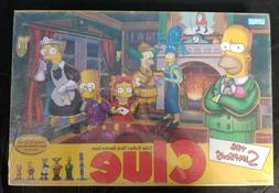 2002 Simpsons Clue Hasbro Board Game New NIB Bundle and save