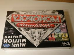2017 MONOPOLY MILLIONAIRE BOARD GAME NEW Factory Sealed!