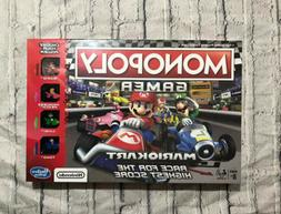 2019 Monopoly Gamer Mario Kart Board Game New in Box Fast Sh