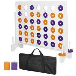 3' Giant 4 in a Row Board Game For Adults Kids Family Yard E