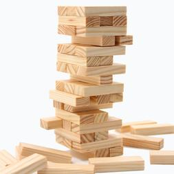 48pcs/set DIY Tower Wood Assembled Building Blocks Toy for K