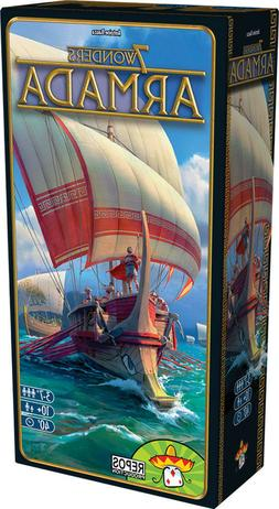 7 Wonders Armada Board Game Expansion New Sealed NIB Asmodee