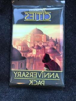 7 Wonders Board Game Cities Anniversary Pack 15 Cards Expans