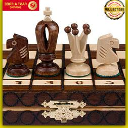 Chess Royal 30 European Wooden Handmade International Set, 1