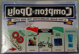 Comptonopoly Limited Edition Game New Board Game Compton-opo