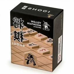 Full Set of Wooden Shogi Japanese Chess Pieces / Koma