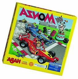 HABA Monza - A Car Racing Beginner's Board Game Encourages T