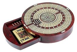 House of Cribbage - Round Shape 4 Tracks Continuous Cribbage