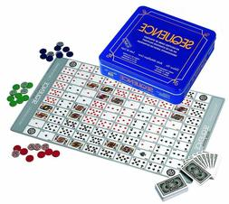 Jax Ltd. Deluxe Sequence Tin  Family Board-Game