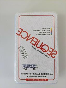Jax Ltd. Sequence Travel Tin Family Board-Game