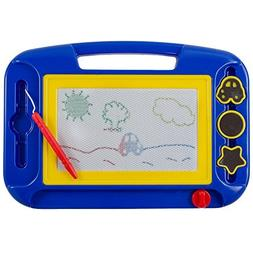 Kidsthrill Doodle Magnetic Drawing Board - Colorful Kids Wri