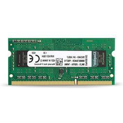 Kingston ValueRAM 4GB 1600MHz PC3-12800 DDR3 Non-ECC CL11 SO