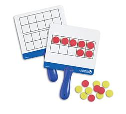 Learning Resources Magnetic Ten-Frame Answer Boards, Set of