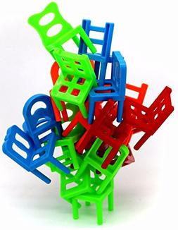 Little Treasures Chairs Stacking Tower Balancing Game - Pile