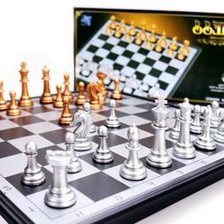 Magnetic Ajedrez Chess Traditional Board Brain Game 25 X 25