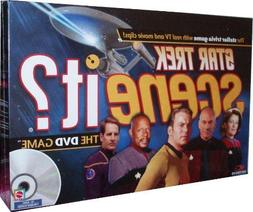 Mattel Star Trek Scene It? DVD Game with Real TV and Movie C