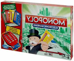 Monopoly Electronic Banking Board Game 2-4 Players Indoor Ga