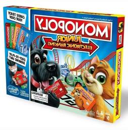 Monopoly Junior Electronic Banking Updated Classic Board Gam