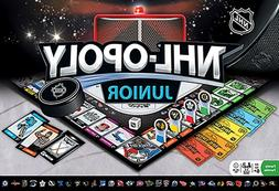NHL-Opoly  Junior Board Game Masterpieces Puzzles Co.