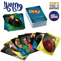 New UNO Harry Potter Card Game Family Board Games Fun Playin