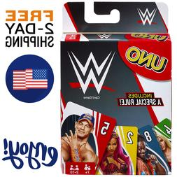 New UNO WWE Card Game Family Board Games Fun Playing Party F