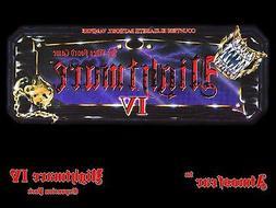 Nightmare 4 IV Elizabeth Bathory Video Board Game DVD of the