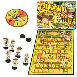 Outset Media - Dinosaur Snakes and Ladders - A Dino-Sized Tw