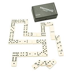 Pressman Toy Double Six Urea Tournament Dominoes