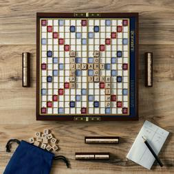 Scrabble Deluxe Travel Edition Board Game Family Road Trip V