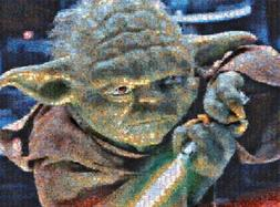 Star Wars - Photomosiac - Yoda - 1000 Piece Jigsaw Puzzle