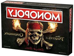 USAopoly Pirates of the Caribbean Ultimate Edition Monopoly