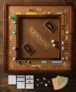 Winning Solutions Monopoly Luxury Edition Board Game Wood /