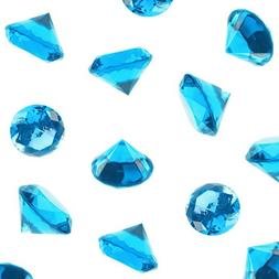 Acrylic Color Faux Round Diamond Crystals Treasure Gems for