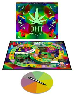 Adult Board Game -THC - The Psychedelic Game of Pot-Themed C