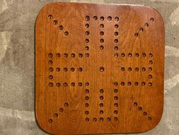 AGGRAVATION GAME BOARD  - FOUR PLAYER SQUARE WOODEN GAME BOA