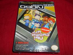 ALL GROWN UP!  VOL 1 FACTORY SEALED!! GAME BOY ADVANCE VIDEO