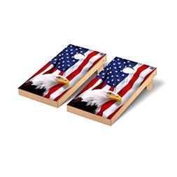 American Eagle USA Mountain Version Cornhole Game Set