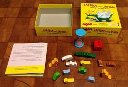 HABA Animal Upon Animal Pocket Sized Wooden Stacking Game Ne