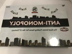 Anti-Monopoly Finance Board Game By University Games Brand N