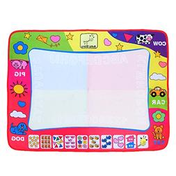 Aqua Doodle Mat, Large Magic Water Drawing Painting Writing