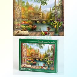 Vermont Christmas Company Autumn Church Jigsaw Puzzle 550 Pi