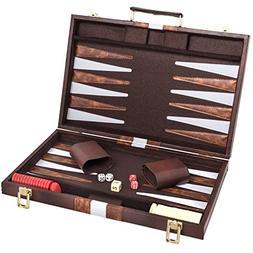 Backgammon Game Board Set: Backgammon Set