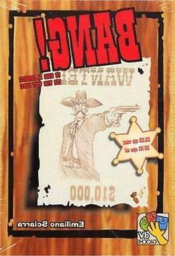 Bang 4th Edition Card Game Board Game by DaVinci Games DVG 9